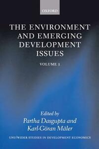 The Environment and Emerging Development Issues: Volume 1 - Karl-Goran Maler - cover