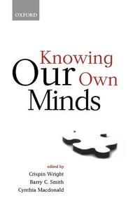 Knowing Our Own Minds - cover