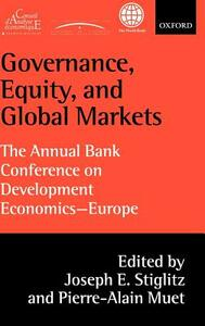 Governance, Equity, and Global Markets: The Annual Bank Conference on Development Economics - Europe - cover