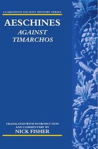 Aeschines: Against Timarchos - Aeschines - cover