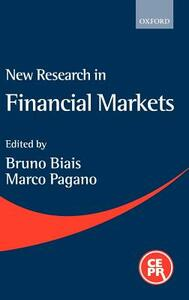 New Research in Financial Markets - cover