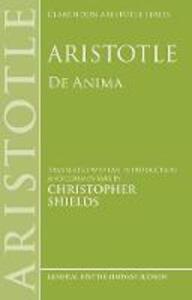 Aristotle: De Anima - Christopher Shields - cover