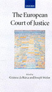 The European Court of Justice - cover