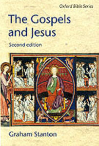 The Gospels and Jesus - Graham N. Stanton - cover