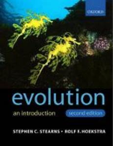 Evolution - Stephen C. Stearns,Rolf Hoekstra - cover