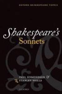 Shakespeare's Sonnets - Stanley W. Wells,Paul Edmondson - cover
