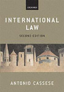 International Law - Antonio Cassese - cover
