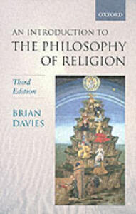 An Introduction to the Philosophy of Religion - Brian Davies - cover