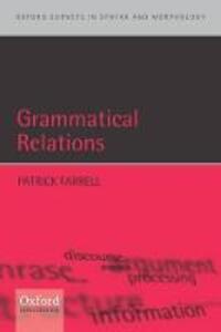 Grammatical Relations - Patrick Farrell - cover