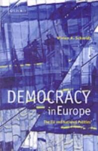 Democracy in Europe: The EU and National Polities - Vivien A. Schmidt - cover