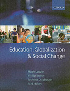 Education, Globalization, and Social Change - cover