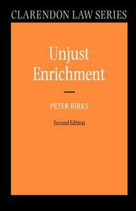 Unjust Enrichment - Peter Birks - cover