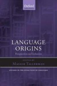 Language Origins: Perspectives on Evolution - cover