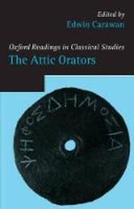 The Attic Orators - cover
