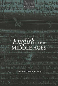 English in the Middle Ages - Tim William Machan - cover