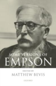 Some Versions of Empson - cover