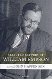 Selected Letters of William Empson - cover