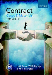 Contract - H. G. Beale,W. D. Bishop,M. P. Furmston - cover