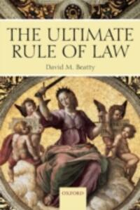 The Ultimate Rule of Law - David M. Beatty - cover