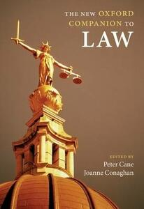 The New Oxford Companion to Law - cover