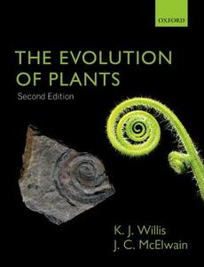 The Evolution of Plants - Kathy Willis,Jennifer McElwain - cover
