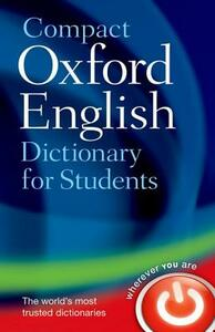 Compact Oxford English Dictionary for University and College Students - Oxford Dictionaries - cover