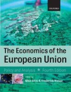 Economics of the European Union - Michael Artis,Frederick Nixson - cover