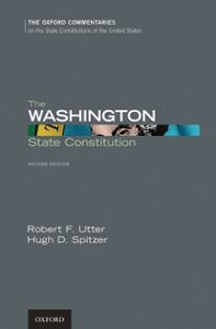Ebook in inglese Washington State Constitution Spitzer, Hugh D. , Utter, Robert F.