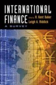 Ebook in inglese International Finance: A Survey