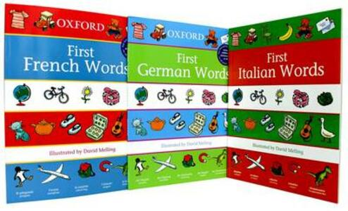 Oxford's First Words Set: Three Volume Set - cover