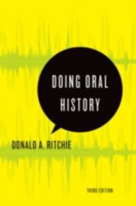 Ebook in inglese Doing Oral History Ritchie, Donald A.