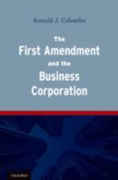 First Amendment and the Business Corporation