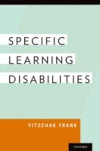 Ebook in inglese Specific Learning Disabilities Frank, Yitzchak