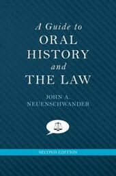 Guide to Oral History and the Law