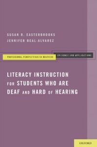 Ebook in inglese Literacy Instruction for Students who are Deaf and Hard of Hearing Beal-Alvarez, Jennifer , Easterbrooks, Susan R.