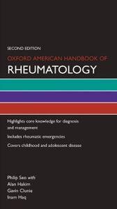 Foto Cover di Oxford American Handbook of Rheumatology, Ebook inglese di Philip Seo, edito da Oxford University Press