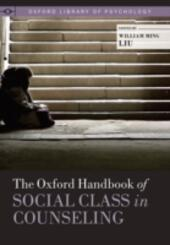 Oxford Handbook of Social Class in Counseling