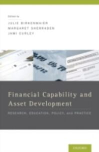 Ebook in inglese Financial Capability and Asset Development: Research, Education, Policy, and Practice