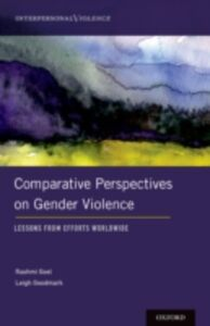 Ebook in inglese Comparative Perspectives on Gender Violence: Lessons From Efforts Worldwide -, -
