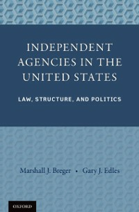 Ebook in inglese Independent Agencies in the United States: Law, Structure, and Politics Breger, Marshall J. , Edles, Gary J.