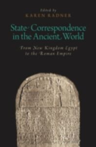 Ebook in inglese State Correspondence in the Ancient World: From New Kingdom Egypt to the Roman Empire