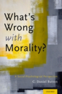 Ebook in inglese Whats Wrong With Morality?: A Social-Psychological Perspective Batson, C. Daniel