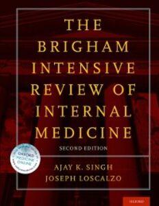 Foto Cover di Brigham Intensive Review of Internal Medicine, Ebook inglese di  edito da Oxford University Press