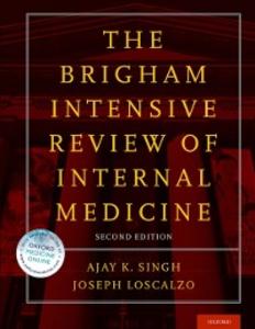 Ebook in inglese Brigham Intensive Review of Internal Medicine -, -