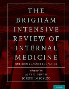 Ebook in inglese Brigham Intensive Review of Internal Medicine Question and Answer Companion