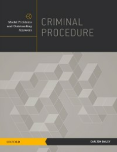 Ebook in inglese Criminal Procedure: Model Problems and Outstanding Answers Bailey, Carlton