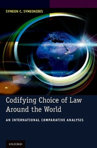 Ebook in inglese Codifying Choice of Law Around the World: An International Comparative Analysis Symeonides, Symeon C.