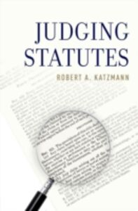 Ebook in inglese Judging Statutes Katzmann, Robert A.