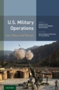 Ebook in inglese U.S. Military Operations: Law, Policy, and Practice -, -