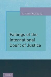 Ebook in inglese Failings of the International Court of Justice Weisburd, A. Mark